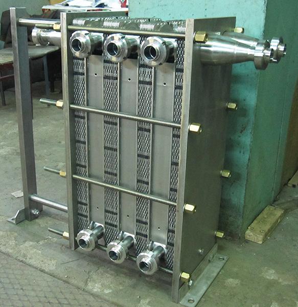 Четырехсекционный теплообменник Пластинчатый теплообменник Funke FP 22 Черкесск